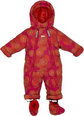 G-MINI Kombinéza zimní kojenecká Bilblo vel. 74, děvče růžová