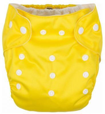 G-MINI Kalhotky plenkové žlutá UNI