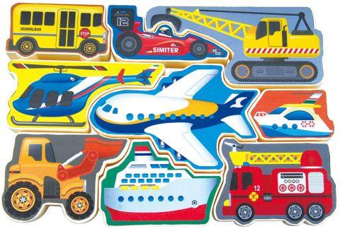 WIKY Puzzle środki transportu