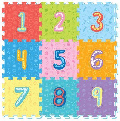 WIKY Měkké puzzle bloky - čísla
