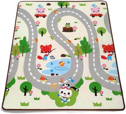 PETITE&MARS Podložka na hraní Joy 180 x 150 x 1 cm Adventure