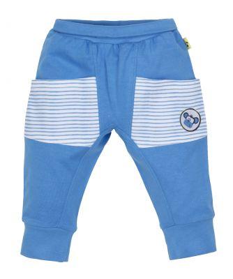 G-MINI Kalhoty do pasu s kapsami chlapec Opice 98 cm