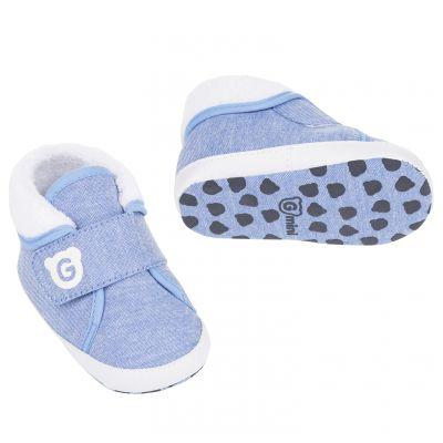 G-MINI Capáčky s kožešinkou sv. modré vel. 3  77e19ae3fa