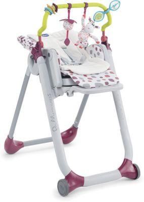 CHICCO Doplňky k jídelní židličce Polly Progress