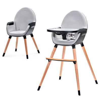 KINDERKRAFT Jídelní židlička Fini – Black