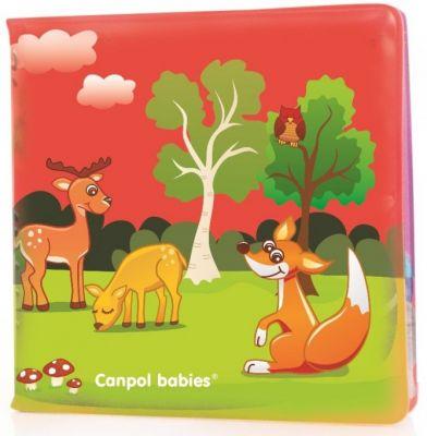 CANPOL BABIES Mäkká knižka pískacia – zvieratká