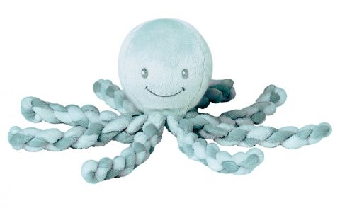 NATTOU První hračka miminka chobotnička PIU PIU Lapidou mint 0 m +