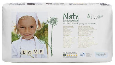 NATY NATURE BABYCARE 4 MAXI, 46 ks (7 - 18 kg) ECONOMY PACK - jednorázové pleny