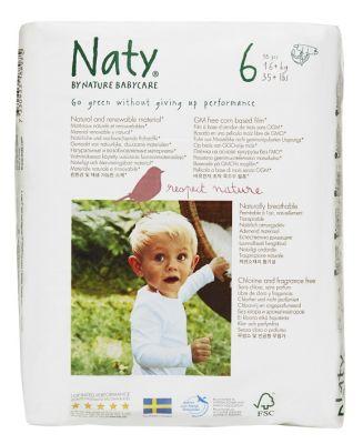 NATY NATURE BABYCARE 6 JUNIOR, 18 ks (16 - 27 kg) - jednorázové pleny
