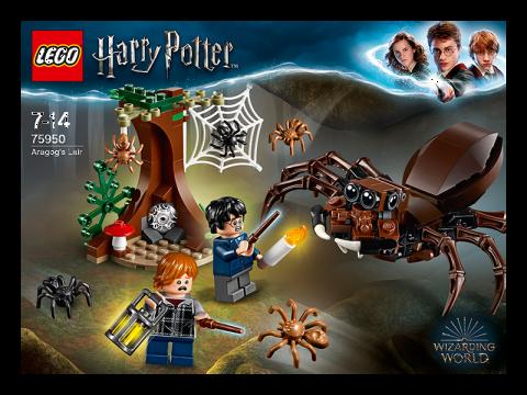 LEGO® Harry Potter Aragogovo doupě