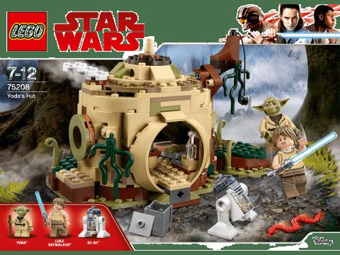 LEGO® Star Wars TM Chýše Mistra Yody