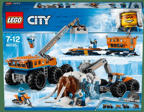 LEGO® City Mobilní polární stanice