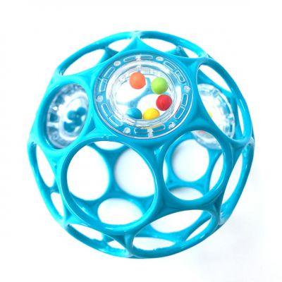 OBALL RATTLE hračka 10 cm 0m+ turquoise