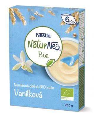 NESTLÉ Naturnes Bio Vanilková kaše 200 g