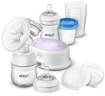 Philips AVENT Odsávačka materského mlieka Natural elektronická - sada na dojčenie