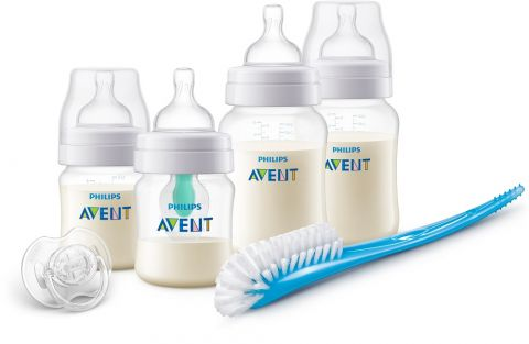 Philips AVENT Novorozenecká startovní sada Anti-colic s ventilem AirFree
