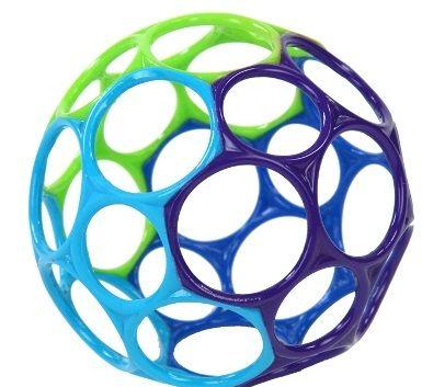 OBALL Hračka 10 cm 0m+, tyrkysová