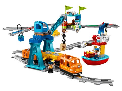 Lego Duplo 10875 Pociąg Towarowy Feedopl
