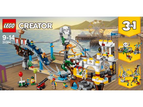 LEGO® Creator 31084 Piracka kolejka górska