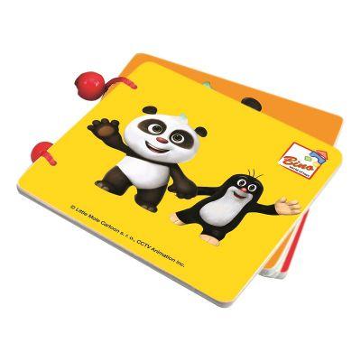 BINO Krtek a Panda knížka barevná