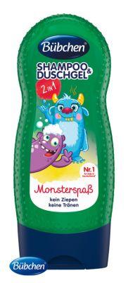 BÜBCHEN Kids 2v1 Šampon a sprchový gel Příšerky 230 ml