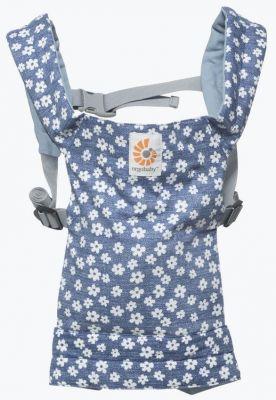 ERGOBABY Nosítko pro panenky – Blue Daisies