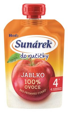 12x SUNÁREK  Do ručičky jablko 100 g