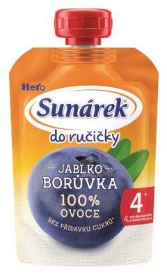 12x SUNÁREK  Do ručičky borůvka 100 g
