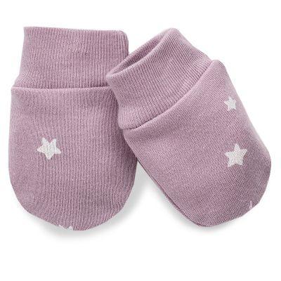 PINOKIO Rukavice kojenecké Unicorn vel. 56 – fialové