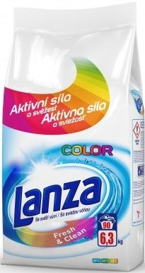 LANZA Fresh&Clean Color 6,3 kg – prací prášek