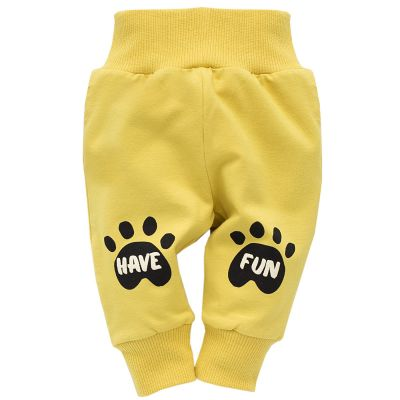 PINOKIO Leginy Funny dog vel. 74 – žluté