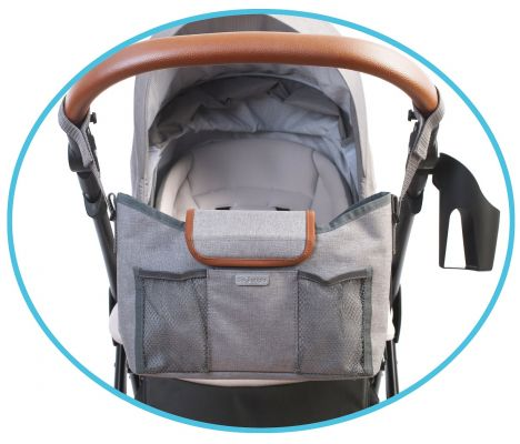 BO JUNGLE Organizér B-Stroller Grey