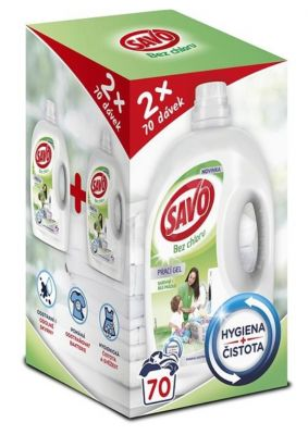SAVO Prací gel Mega Pack (karton)