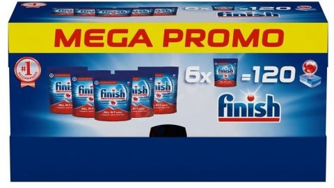 FINISH All in One Max 120 ks – tablety do myčky