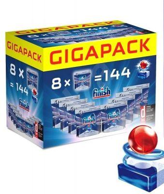 FINISH Quantum Gigapack 144 ks – tablety do myčky
