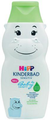 HIPP Babysanft Dětská koupel Hroch 300 ml