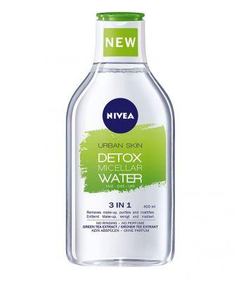 NIVEA Micelární voda Urban Detox 400 ml