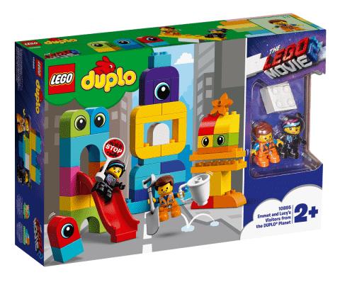 LEGO® DUPLO® LEGO Movie 2 10895 Emmet, Lucy a návštevníci z planéty DUPLO®