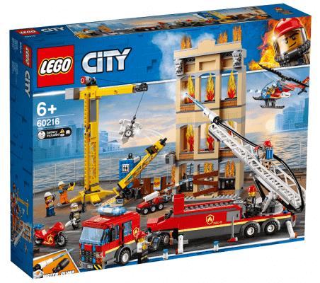 LEGO® City Fire 60216 Hasiči v centru města