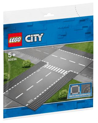 LEGO® City Supplementary 60236 Rovná cesta s křižovatkou