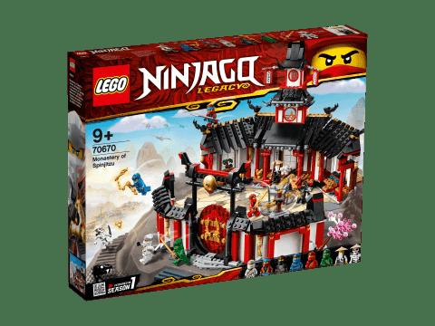 LEGO® Ninjago 70670 Chrám Spinjitzu