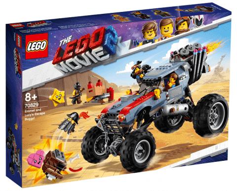 LEGO® Movie 70829 Úniková bugina Emmeta a Lucy!