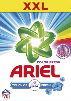 ARIEL Touch of Lenor 5,25 kg (70 praní) – prací prášek
