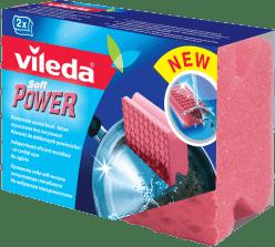 VILEDA Soft Power houbička 2ks (Feedo klub)