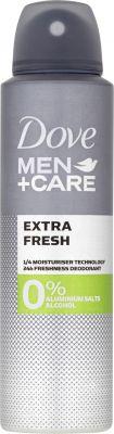 DOVE Alu-free Men + Care Deo spray Extra fresh 150 ml