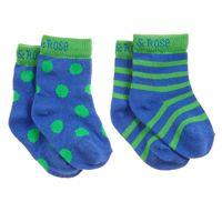BLADE&ROSE Ponožky Monster 0-6 měsíců (2 ks)