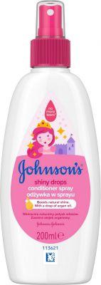 JOHNSON'S BABY Shiny Drops kondicionér ve spreji 200 ml