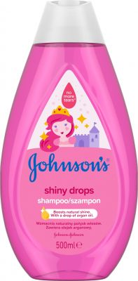 JOHNSON'S BABY Shiny Drops šampon 500 ml