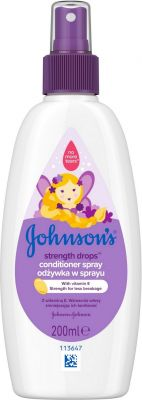 JOHNSON'S BABY Strength Drops posilující kondicionér ve spreji 200 ml