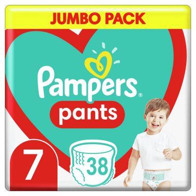 PAMPERS Active Pants 7 (17+ kg) 38 ks Jumbo Pack – plenkové kalhotky